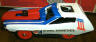 Ideal Evel Knievel Stunt & Crash Car view